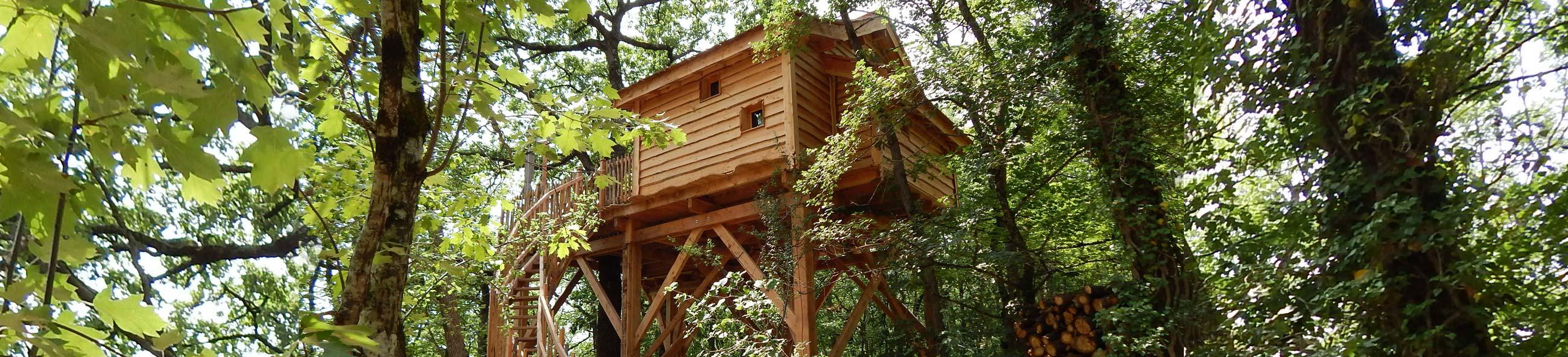 Cabane spa dans les arbres cabane avec spa dans les arbres - Cabane dans les arbres avec jacuzzi sud ouest ...